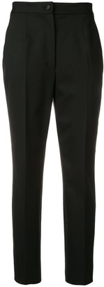 Dolce & Gabbana Cropped High Waisted Trousers