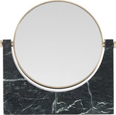 Menu Pepe marble and brass mirror