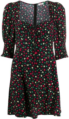 Rixo Larissa floral-print mini dress