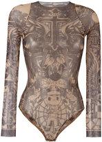 DSQUARED2 tattoo motif body