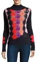 Peter Pilotto Crochet Turtleneck