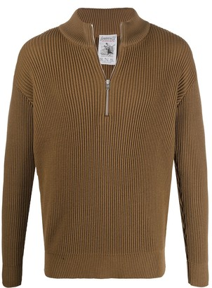 S.N.S. Herning Knitted Half Zip Sweater