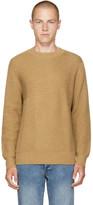 Levi's Tan Pieced Sweater