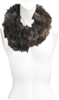 Yves Salomon Tube Scarf in knitted fox fur