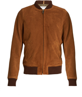 A.P.C. Patty suede bomber jacket