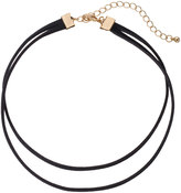 Apt. 9 Double Strand Faux Suede Cord Choker Necklace