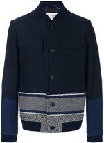 Etro boxy bomber jacket - men - Silk/Polyamide/Wool - M