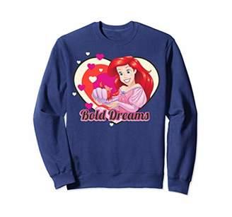 Disney The Little Mermaid Ariel Bold Dreams Cartoon Heart Sweatshirt