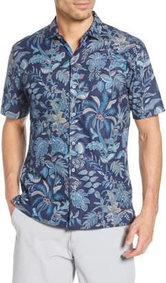 Tori Richard Morris Garden Classic Fit Tropical Short Sleeve Shirt