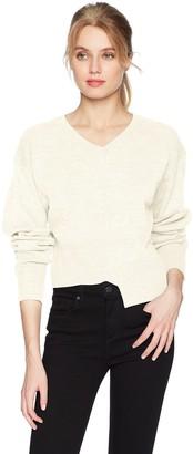 J.o.a. Women's Asymmetric Warm Knit Fashion Sweater TOP