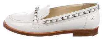 Chanel Chain-Link CC Loafers