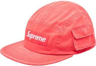 Supreme snap pocket camp cap