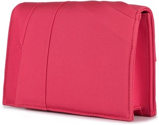 Paule Ka Small Cross Body Bag_w/ Gathers Details_ottoman Stretch