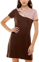 Thumbnail for your product : Ultra Flirt Juniors' Colorblocked Cutout Bodycon Dress