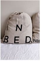 IN BED Linen Duvet Set - White