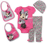Disney 5-pc. Minnie Mouse Clothing Set - Baby Girls newborn-24m