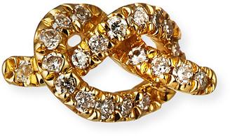 Sydney Evan 14k Diamond Love Knot Stud Earring, Single