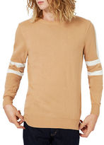 Topman Striped Crew Neck Sweater
