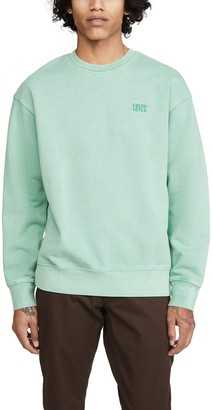 Levi's Logo Crew Neck Sweatshirt