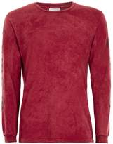 Hype Red Acid Wash Long Sleeve T-Shirt*