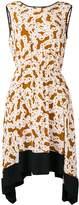 Diane von Furstenberg chain print dress