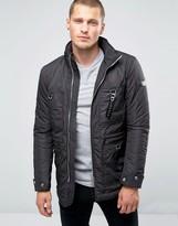 Diesel W-froz Nylon Military Jacket