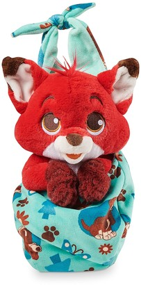Disney Babies Todd Plush in Pouch The Fox and the Hound Small 10''