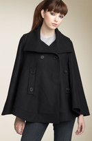 Andrew Marc 'Mode' Double Breasted Wool Cape