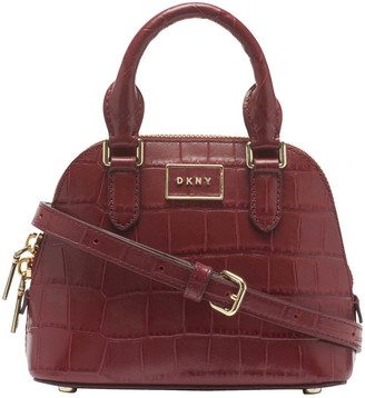 DKNY R02DPI84AWN STEFFY MINI Double Handle Satchel