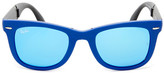 Ray-Ban Unisex Folding Wayfarer Plastic Sunglasses