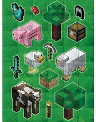 """Minecraft Daytime Weighted Blanket 4.5 lb, 36"""" x 48"""""""