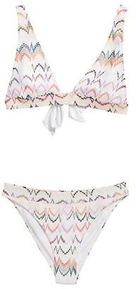 Missoni Multicolor Zigzag Two-Piece Bikini