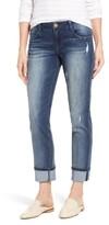 Women's Wit & Wisdom Flex-Ellent Ripped Boyfriend Jeans