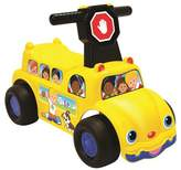 Fisher-Price Little People School Bus Push N' Scoot Ride-On