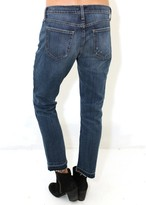 Current/Elliott Current Elliott The Cropped Straight In Loved with let out hem