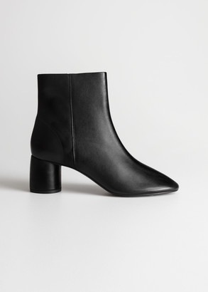 And other stories Cylinder Heel Ankle Boots