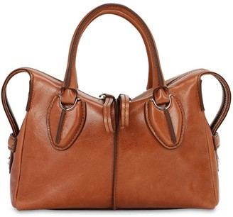 Tod's Any Mini Leather Top Handle Bag