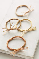 Anthropologie Braided Hair Tie Set