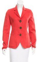 Rochas Wool Notch-Lapel Blazer w/ Tags