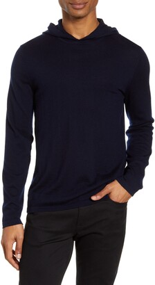 Vince Wool & Cashmere Pullover Hoodie