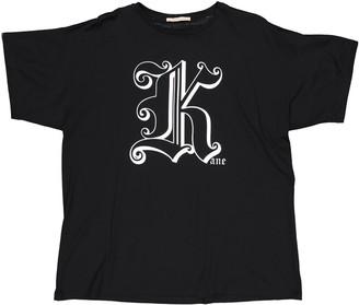 Christopher Kane Black Cotton T-shirts