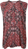 ASTRAET printed sleeveless blouse - women - Polyester - One Size
