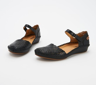 PIKOLINOS Leather Quarter Strap Shoes - Vallarta