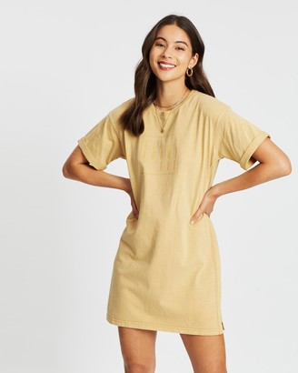 All About Eve Taped Jersey Tee Dress