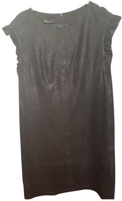 Bel Air Black Suede Dress for Women