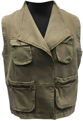 Anine Bing Green Cotton Jackets