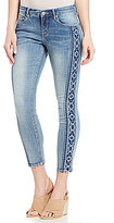 Miraclebody Jeans MIRACLEBODYTM JEANS Faith Embroidered Ankle Jeans