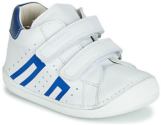Pablosky Kids 44304 girls's Shoes (High-top Trainers) in White
