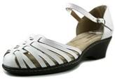 Softspots Tatianna Ww Open Toe Leather Wedge Sandal.