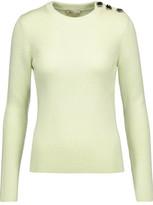 Nina Ricci Embellished Ribbed Wool Sweater